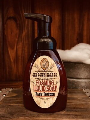 Baby Powder -Pump Liquid Soap