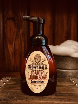 Ginger Peach -Pump Liquid Soap