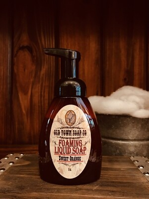 Sweet Orange -Pump Liquid Soap