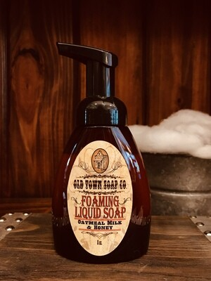 Oatmeal Milk & Honey -Pump Liquid Soap