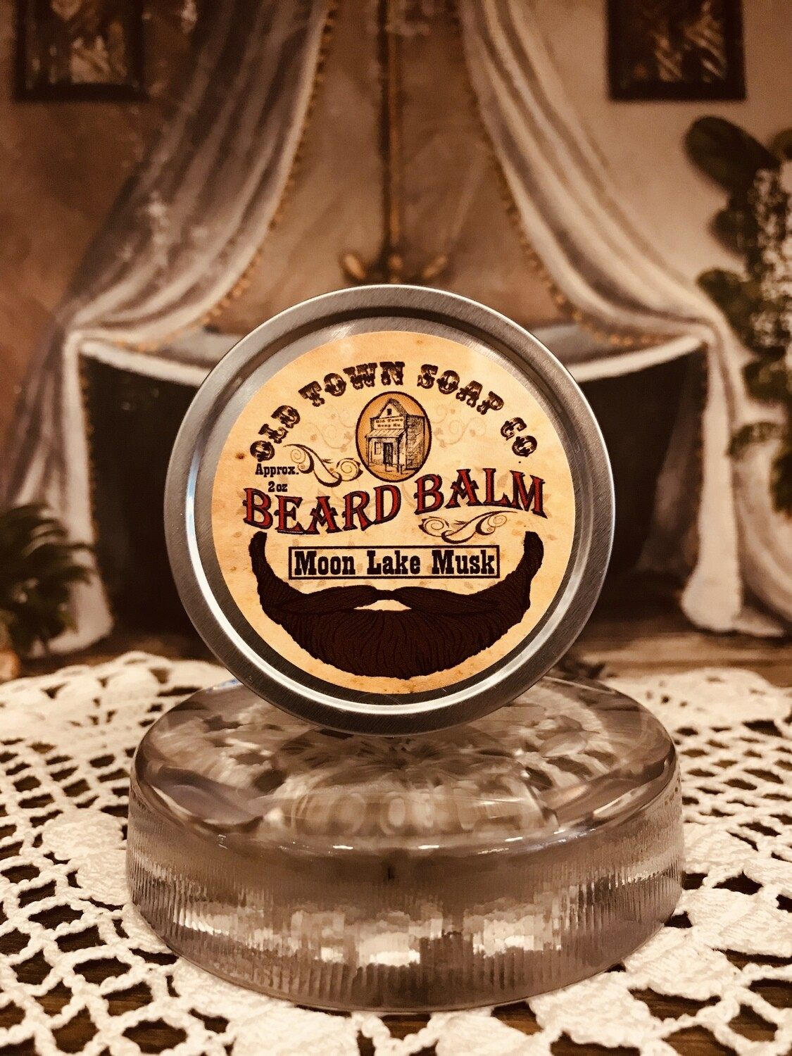 Moon Lake Musk -Beard Balm