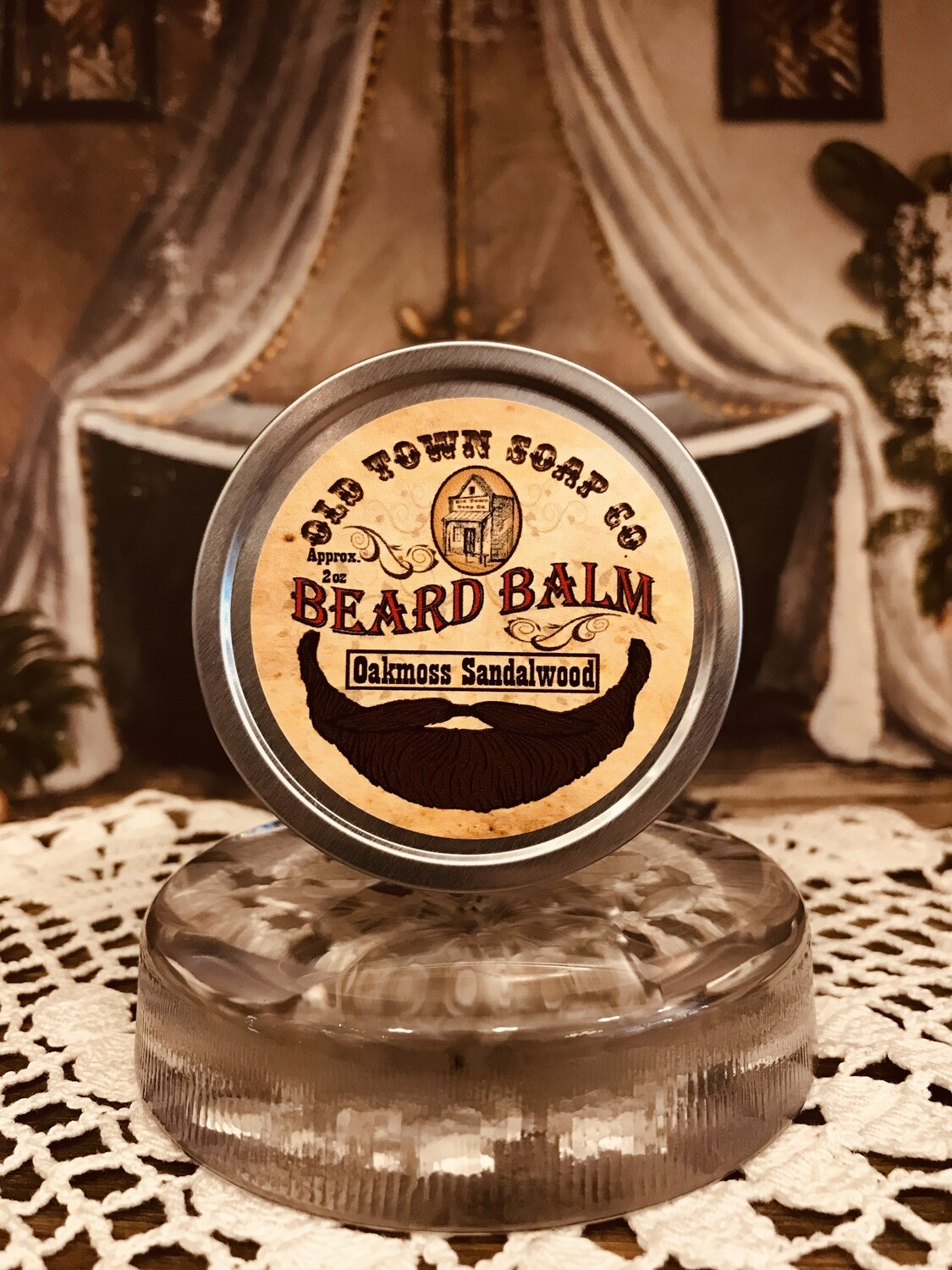 Oakmoss Sandalwood -Beard Balm