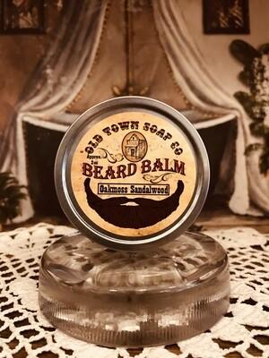 Oakmoss Sandalwood -Beard Balm