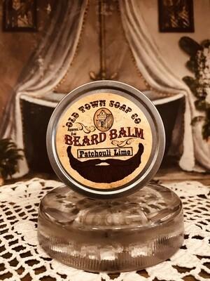 Patchouli & Lime -Beard Balm