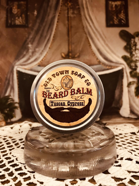Tuscan Cypress -Beard Balm