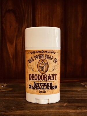 Antique Sandalwood -Deodorants