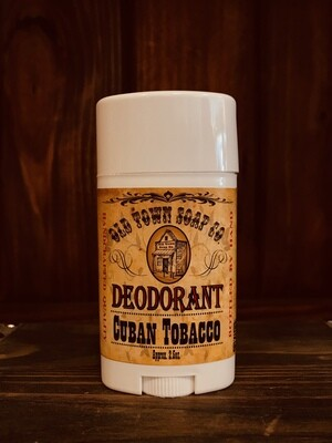 Cuban Tobacco -Deodorants