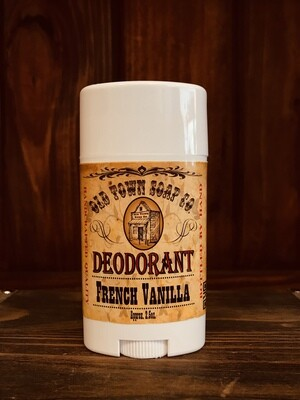 French Vanilla -Deodorants