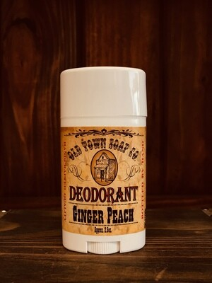 Ginger Peach -Deodorants
