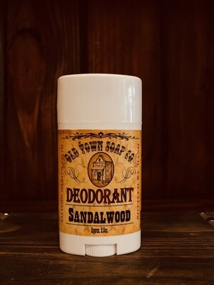Sandalwood -Deodorants