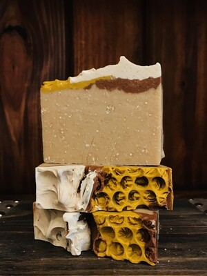 Cinnamon, Oatmeal, Milk & Honey -Bar Soap
