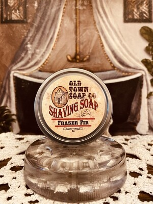 Fraser Fir -Shave Soap Tin