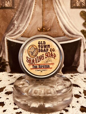 The Hipster -Shave Soap Tin