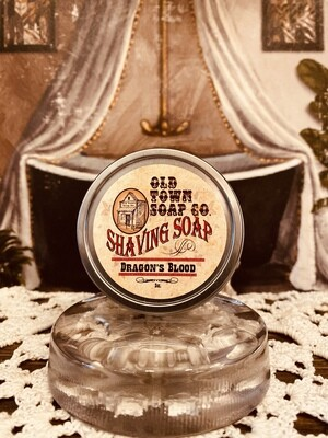 Dragon's Blood -Shave Soap Tin