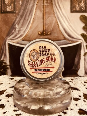 Beechwood -Shave Soap Tin