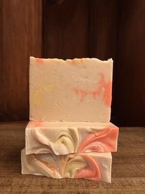 Market Peach -Bar Soap