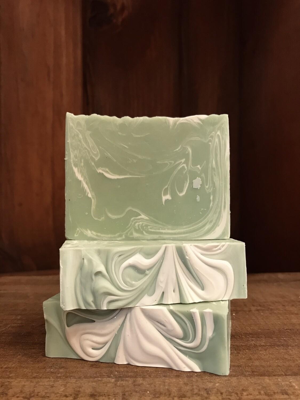 Spearmint Soap -Artisanal