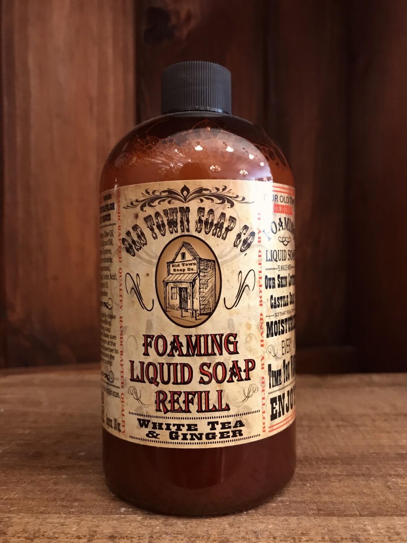 White Tea & Ginger -Refill Liquid Soap