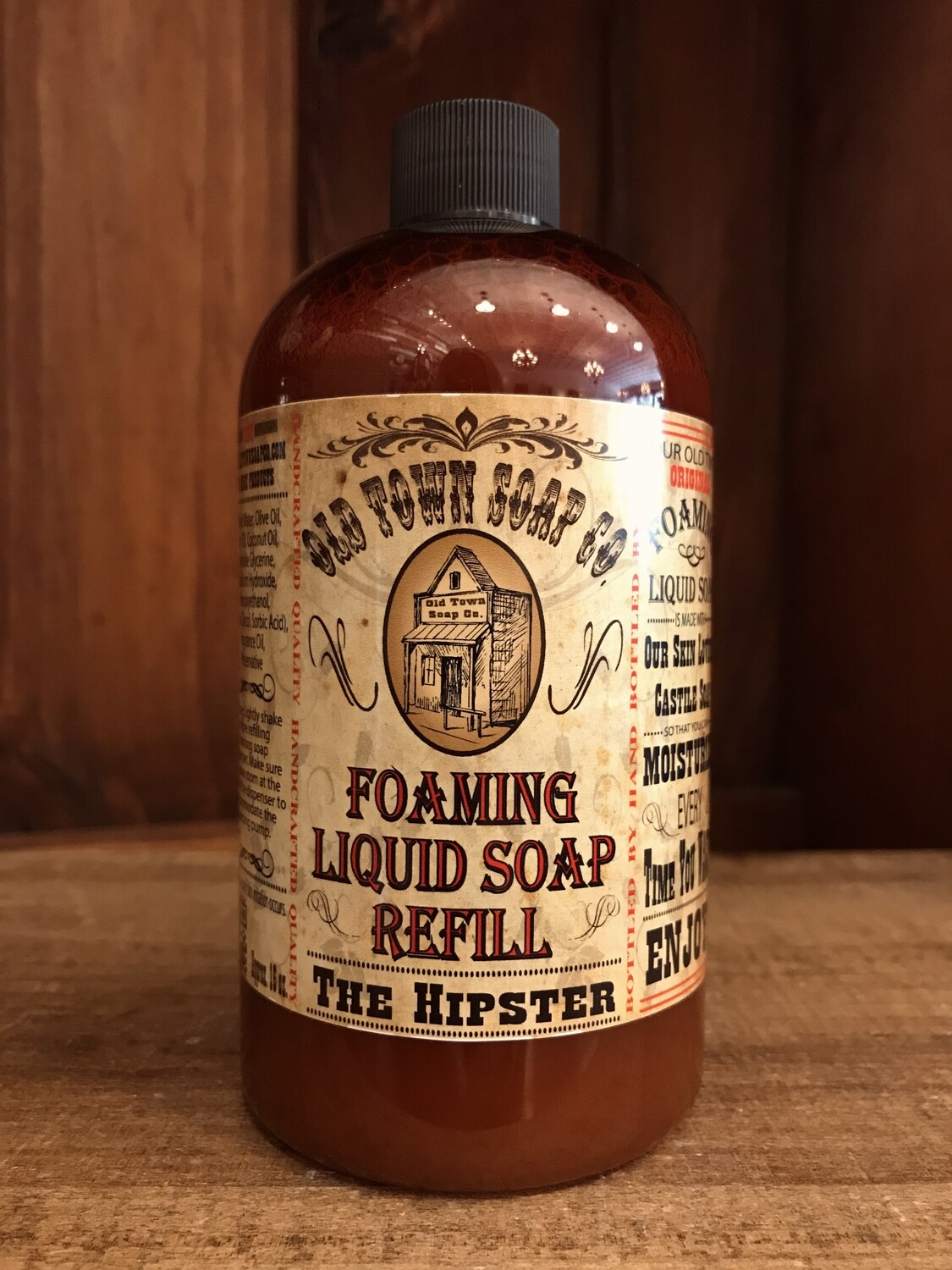 The Hipster -Refill Liquid Soap