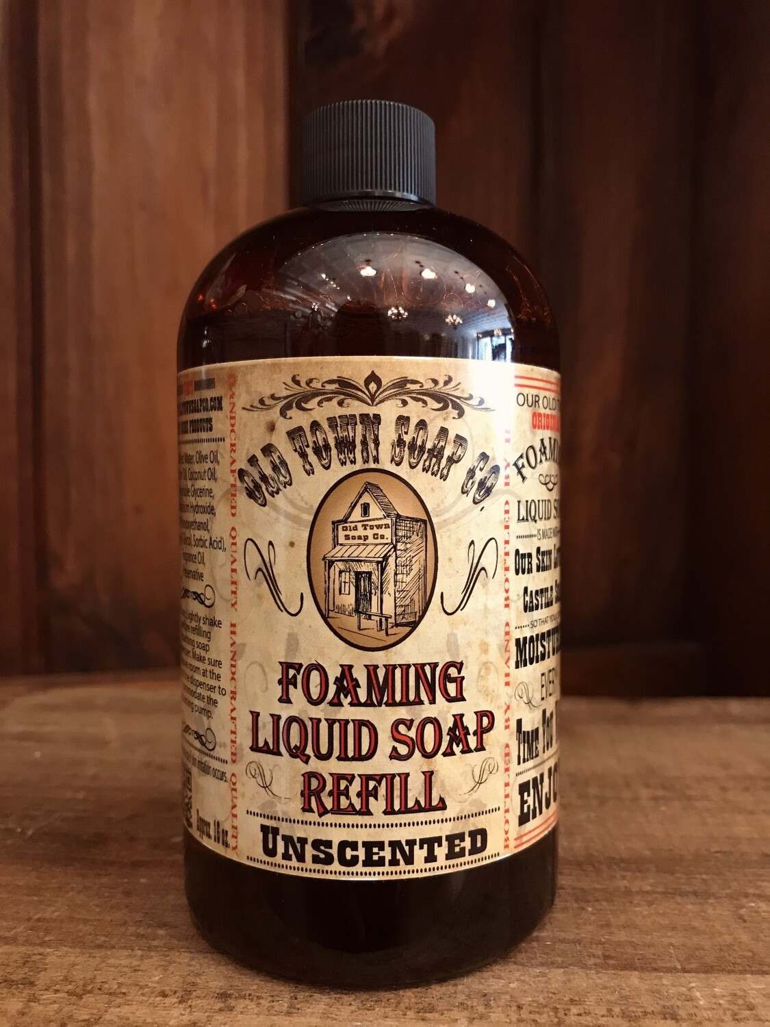 Unscented -Refill Liquid Soap