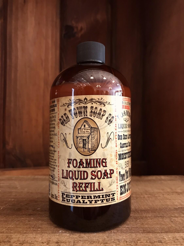 Peppermint Eucalyptus -Refill Liquid Soap