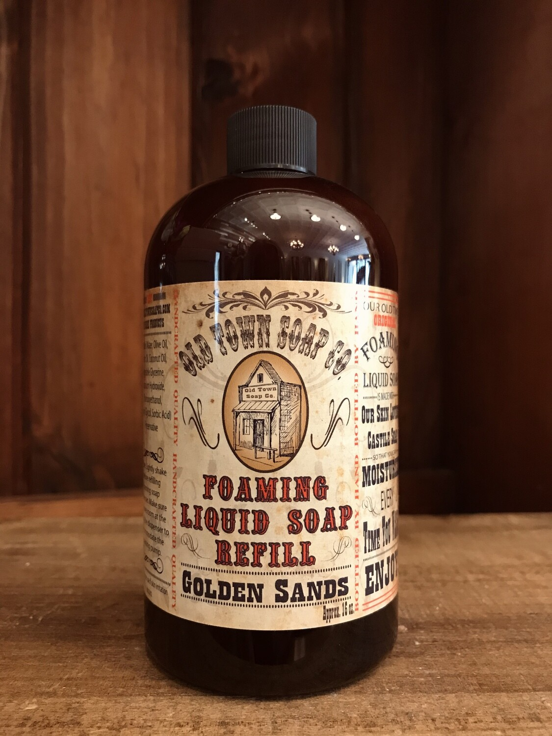Golden Sands -Refill Liquid Soap