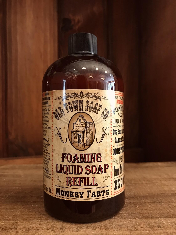 Monkey Farts -Refill Liquid Soap
