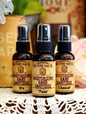 Your Choice Hand Sanitizer Scent 2oz $3.99