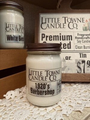 1920's Barbershop - Candle