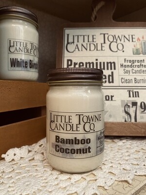 Bamboo Coconut -Candles