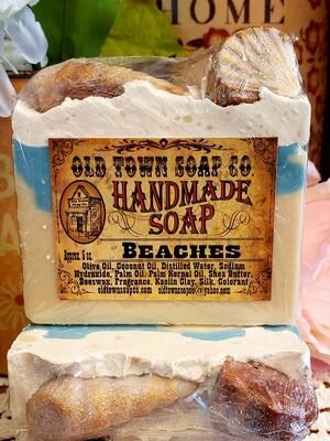 Sea Shells Beaches -Bar Soap