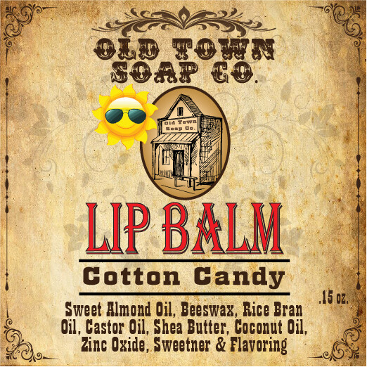 Cotton Candy -Lip Balm