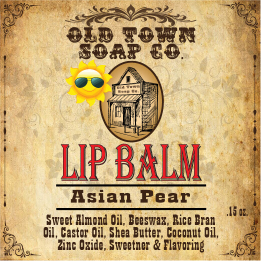 Asian Pears -Lip Balm
