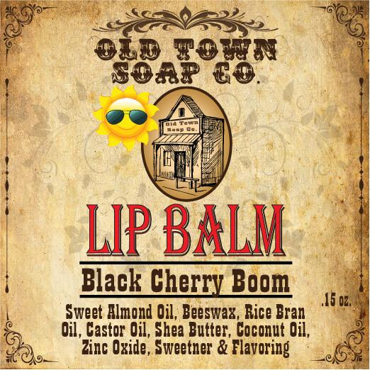 Black Cherry Boom -Lip Balm