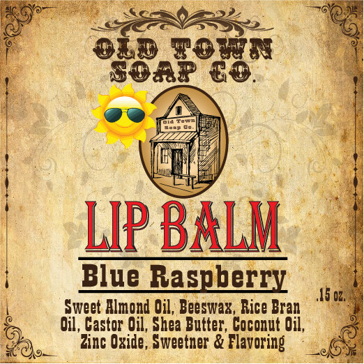 Blue Raspberry -Lip Balm