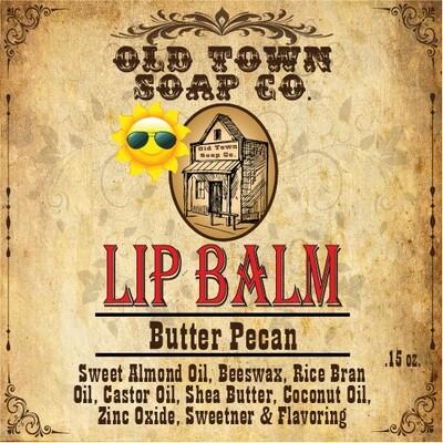 Butter Pecan -Lip Balm