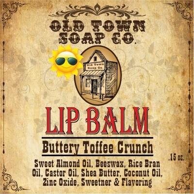 Buttery Toffee Crunch -Lip Balm