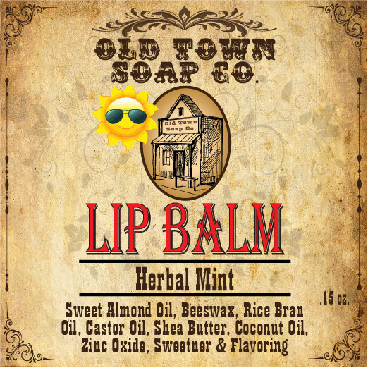 Herbal Mint -Lip Balm