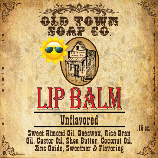Unflavored -Lip Balm