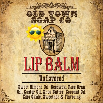 Unflavored -Lip Balm