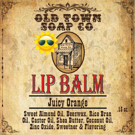 Juicy Orange -Lip Balm