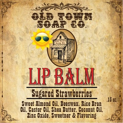 Sugared Strawberries -Lip Balm