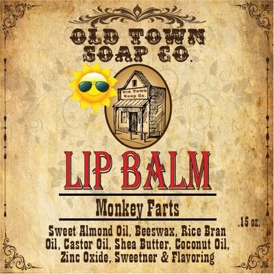 Monkey Farts -Lip Balm