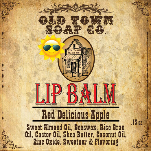 Red Delicious Apple -Lip Balm
