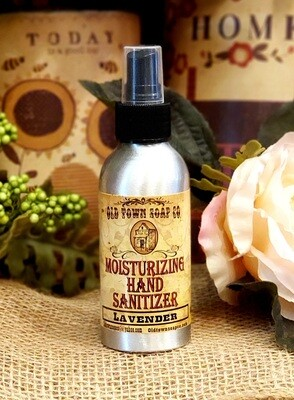 Lavender 4oz Hand Sanitizer