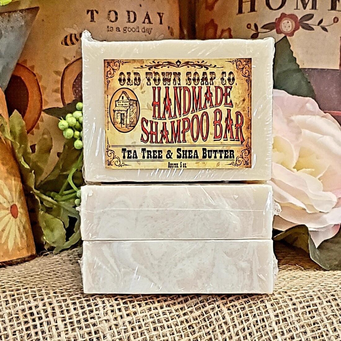 Tea Tree & Shea Butter -Shampoo Bar