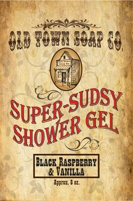 Black Raspberry & Vanilla -Shower Gel