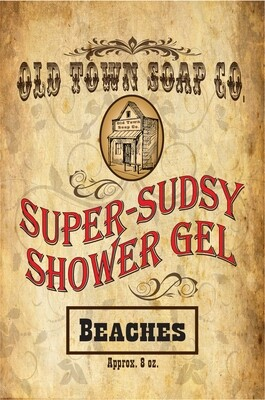 Beaches -Shower Gel