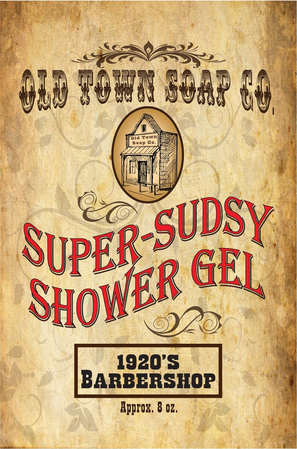 1920's Barbershop -Shower Gel