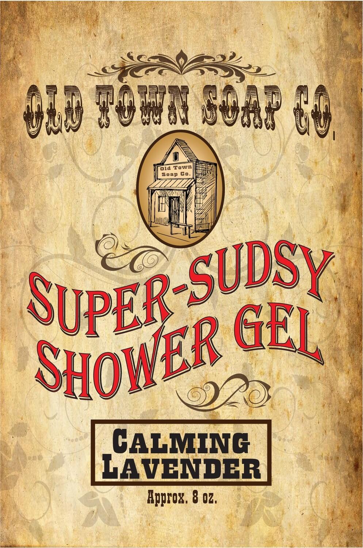 Calming Lavender -Shower Gel